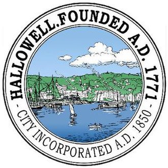 Hallowell, Maine - Image: Seal of Hallowell, Maine