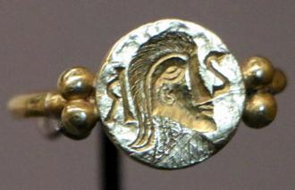 Sigebert III - Sigebert III's signet ring