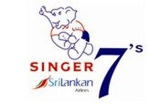 Sri Lanka Sevens - Singer Sri Lankan Airlines Rugby 7's Logo