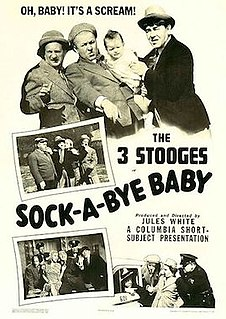 <i>Sock-a-Bye Baby</i> 1942 short film by The Three Stooges directed by Jules White