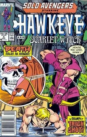 Trick Shot (comics) - Image: Soloavengers 5