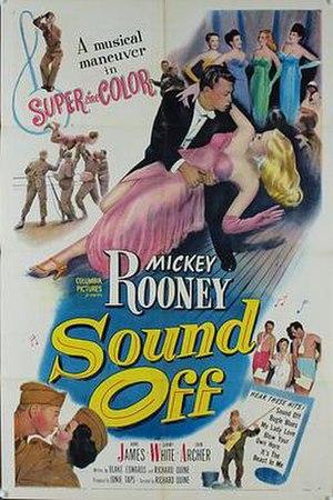 Sound Off (film) - Original film poster