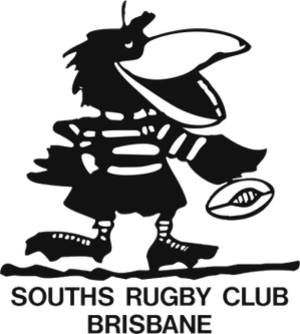 Souths Rugby - Image: Souths Rugby Club logo