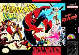 Spider-Man and the X-Men in Arcade's Revenge - Spider-Man/X-Men: Arcade's Revenge