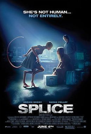 Splice (film) - Final theatrical poster
