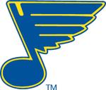 Original logo of the St. Louis Blues (1967-84).
