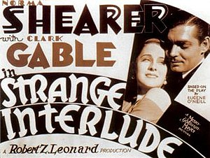 Strange Interlude (film) - Image: Strange Interlude poster