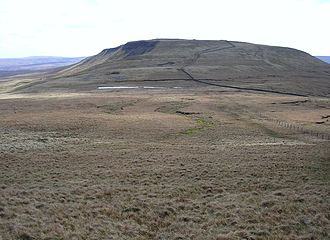 Swarth Fell - Swarth Fell from Wild Boar Fell (Photo by John Illingworth)