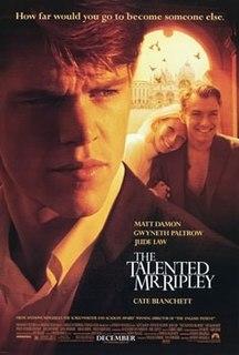 <i>The Talented Mr. Ripley</i> (film) 1999 film by Anthony Minghella
