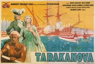 Tarakanova (film) - Image: Tarakanova movie poster