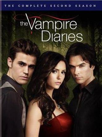The Vampire Diaries (season 2) - Image: The vampire diaries season 2 dvd 558x 754