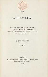 <i>Tales of the Alhambra</i> book