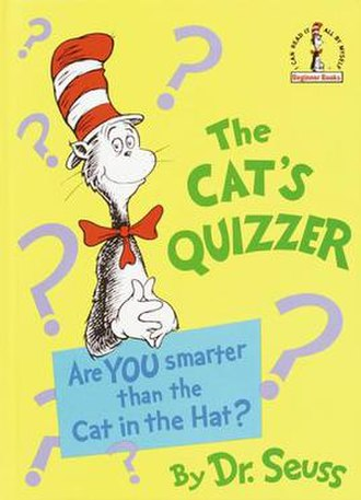 The Cat's Quizzer - Hardcover cover