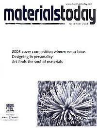 The Cover of Materials Today in DEC 2003.JPG