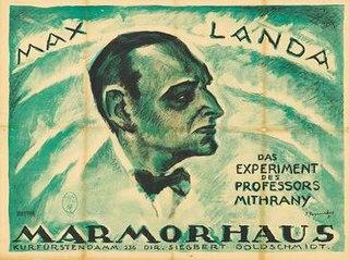 <i>The Experiment of Professor Mithrany</i> 1921 film