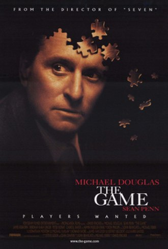 The Game (1997 film) - Theatrical release poster