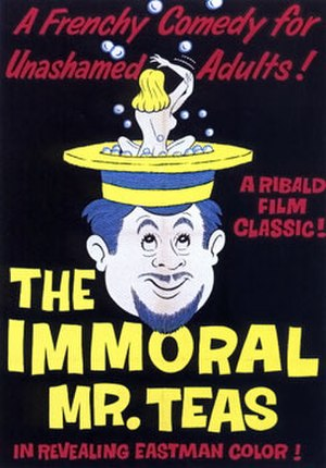 The Immoral Mr. Teas - Theatrical poster to The Immoral Mr. Teas