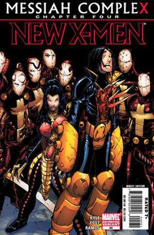 Reavers (comics) - The latest incarnation of the Reavers in Messiah Complex by Humberto Ramos.