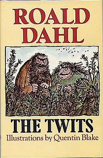 <i>The Twits</i> 1980 childrens book written by Roald Dahl