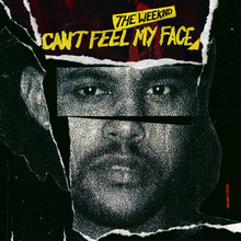 "Resultado de imagen de the weeknd ""Can't Feel My Face"""