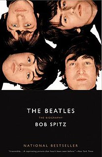 <i>The Beatles: The Biography</i> book by Bob Spitz