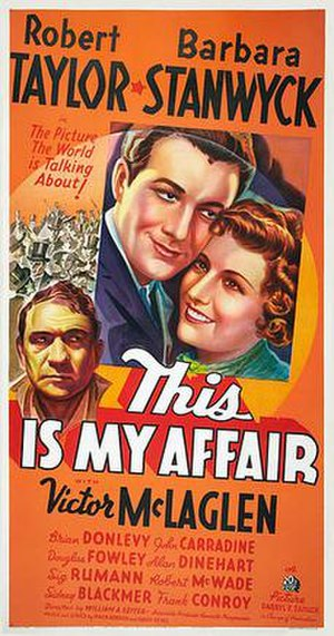 This Is My Affair - Movie poster