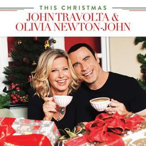 This Christmas (John Travolta and Olivia Newton-John album) - Image: Thischristmas jtonj