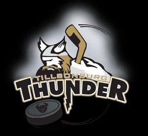 Tillsonburg Thunder - Image: Tillsonburg Thunder logo