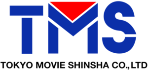 TMS Entertainment - The Tokyo Movie Shinsha logo.