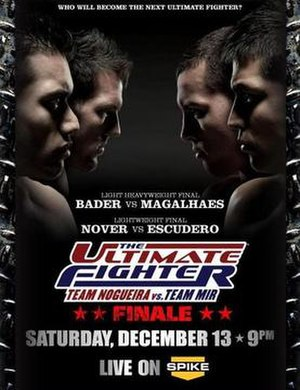 The Ultimate Fighter: Team Nogueira vs. Team Mir - Image: Tuf 8 finale poster