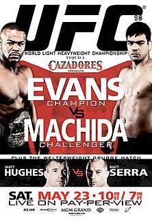 UFC 98 UFC mixed martial arts event in 2009