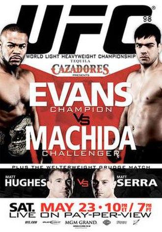 UFC 98 - Image: Ufc 98poster