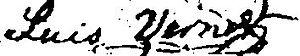 Luis Vernet - Image: Vernet Signature