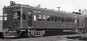 Harold Winthrop Clapp - Victorian Railways Petrol Electric railmotor, introduced in 1928