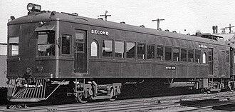 Diesel Electric railmotor (VR) - RM 55 as a PERM pre 1952