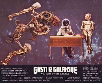 Visitors from the Galaxy - The Croatian-language poster for Visitors from the Galaxy