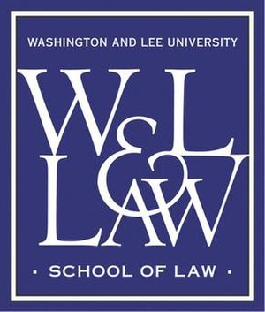 Washington and Lee University School of Law - Image: W&L law logo