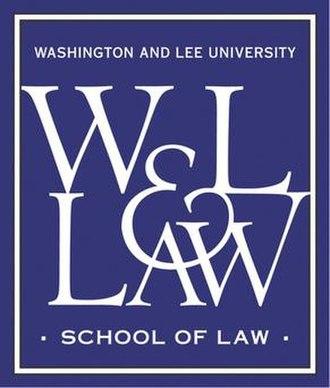 Washington and Lee University School of Law - Image: W&L law logo