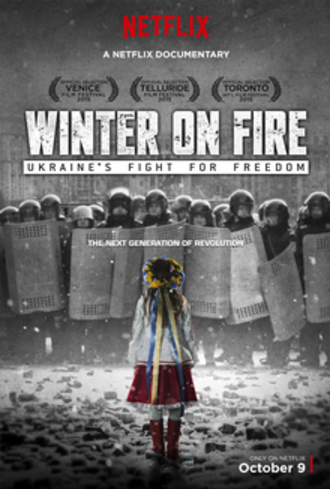 Winter on Fire: Ukraine's Fight for Freedom - Film poster