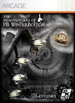 The Misadventures of P.B. Winterbottom - Image: Winterbottom Cover