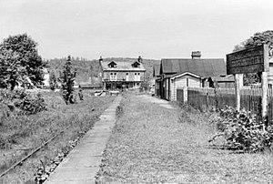 Grassington & Threshfield railway station - Image: Ydrmt 33