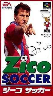 <i>Zico Soccer</i> 1994 video game