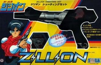 Zillion (TV series) - A Zillion-themed toy gun.