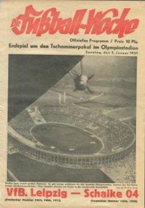 1936 Tschammerpokal Final - Image: 1936 Tschammerpokal Final programme