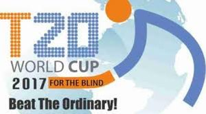 2017 Blind T20 World Cup - Image: 2017 Blind T20 World Cup logo