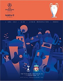 2019 UEFA Champions League Final programme.jpg