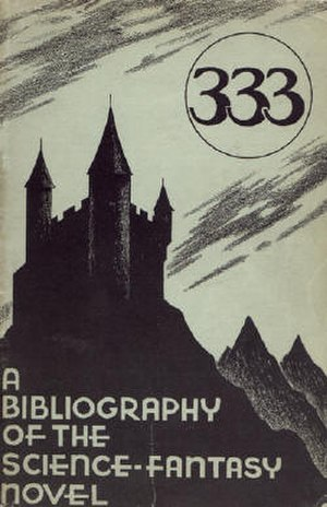 333: A Bibliography of the Science-Fantasy Novel - Cover of the first edition (paperback)