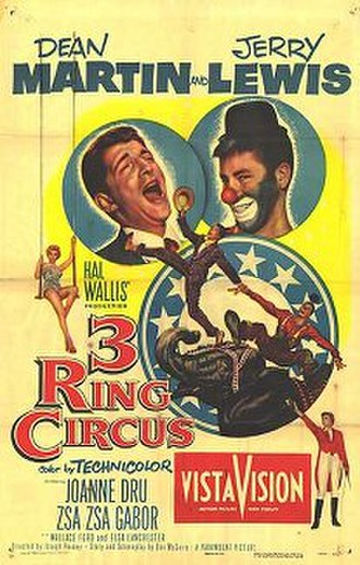 3 Ring Circus - Theatrical release poster
