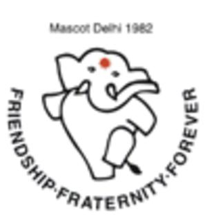 "1982 Asian Games - 1982 Asian Games Mascot ""Appu"""