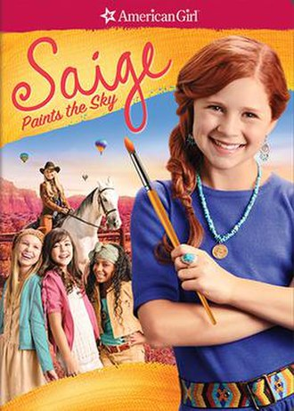 An American Girl: Saige Paints the Sky - DVD poster